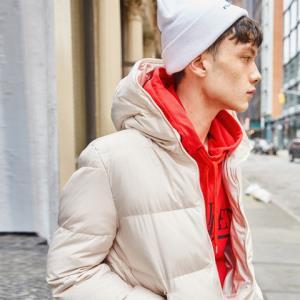 gxgjeans男装2018秋冬新款羽绒服男短款青少年休闲外套韩版潮    259元