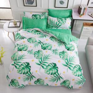 芦荟棉床上四件套床上用品套装 89元