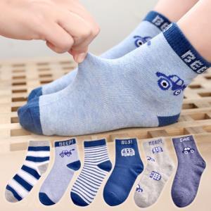 浪莎儿童袜子秋冬加厚棉袜6双装 29.5元(需用券)