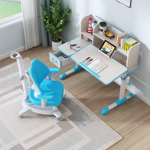 SINGAYE/心家宜105CM实木儿童学习桌椅套装香杉木学习桌可升降儿童书桌    1299元
