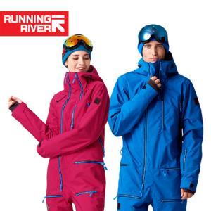 RUNNINGRIVER奔流户外单板野雪防风透气男式女式连体滑雪服上衣    1159元