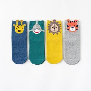 Caramella焦糖玛奇朵儿童中筒袜4双装 19.9元(需用券)