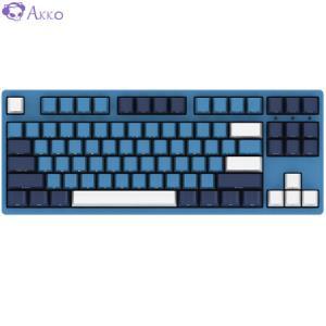 AKKO3087SP海洋之星机械键盘Cherry樱桃轴有线游戏键盘电竞键盘吃鸡键盘绝地求生茶轴349元