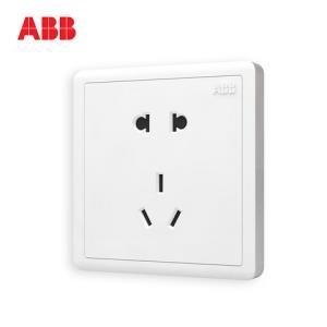 ABB官方专卖店远致白86型五孔插座AO205*10件 44元(需用券,合4.4元/件)