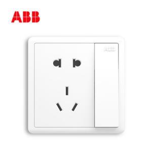ABBAO22586型一开五孔插座3只装 29.6元(需用券)