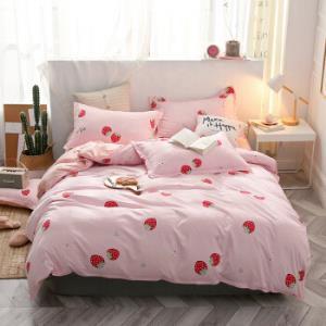 床单四件套被套产品床上用品芦荟棉 79元