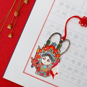 绍泽文化中国风国粹京剧特色创意书签创意礼品礼物穆桂英*5件 87.5元(合17.5元/件)