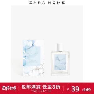 ZaraHome优雅茉莉房间室内净化空气清新剂香薰喷雾45996706251 39元
