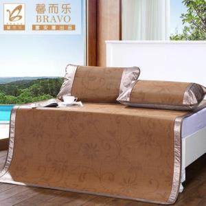 Dohia/多喜爱简约百搭舒适透气夏季凉席三件套1.2m 109元