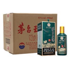 茅台(MOUTAI)茅台王子酒(己亥猪年)生肖酒53度白酒500ml*6整箱装口感酱香型 2738元
