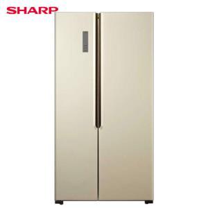 SHARP夏普BCD-526WFXD双变频对开门冰箱526L 2919元