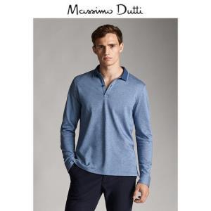 秋冬大促MassimoDutti男装棉质斜纹布POLO衫00738201400 120元