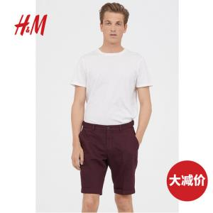 H&M0603861男装休闲短裤 60元