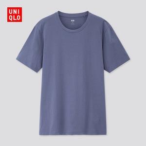 男装SUPIMACOTTON圆领T恤(短袖)422990优衣库UNIQLO 79元