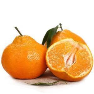 美果汇四川耙耙柑春见橘子柑橘新鲜水果带箱5斤中果 21.8元