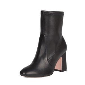 STUARTWEITZMAN斯图尔特・韦茨曼SW女士NILI90系列黑色牛皮靴子NIKI90BLACKSTRNAPPA39 2799元