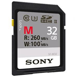 索尼(SONY)SD32G260M存储卡高速单反微单数码相机高清摄像机内存卡SD卡 199元