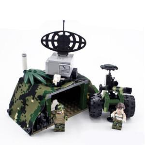 古迪积木拼装玩具男孩军事场景猎虎行动系列飞机大炮模型6岁以上8032猎虎行动之野战阵地185颗粒2公仔*3件 100.8元(合33.6元/件)