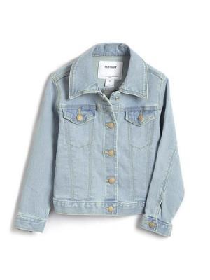 女幼儿|基本款长袖牛仔外套    89.7元