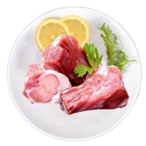 金锣猪大骨块1kg免切猪大骨头猪筒子骨猪汤骨块煲汤食材1kg大骨块*4件169.6元(合42.4元/件)