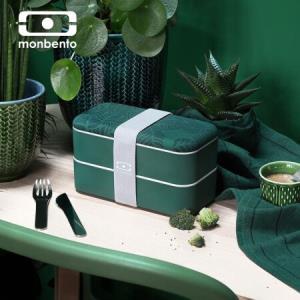 法国monbento原创双层日式分隔便当盒上班族饭盒188元