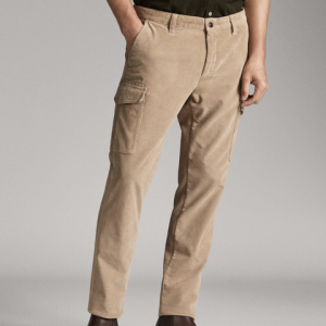 MassimoDutti00026026710男款工装裤 220元
