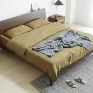 17日0点:维莎s0430日式实木双人床1.5/1.8米 1130元包邮