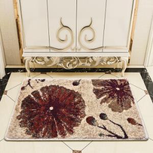 东升卫生间门口地垫厨房进门脚垫家用长条垫子楼梯垫飘窗垫繁花似锦0.4*0.6米红色*3件 100.8元(合33.6元/件)