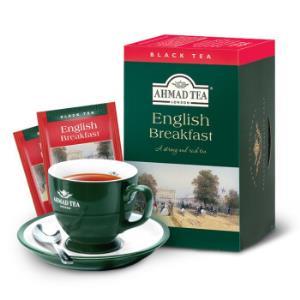 AHMAD亚曼 英式早餐红茶2g*20包*3件 59.7元包邮(需用券,合19.9元/件)