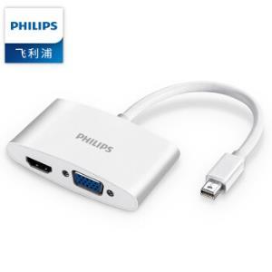 PHILIPS飞利浦SWR3121A/93MiniDP转HDMI/VGA转换器 79.9元
