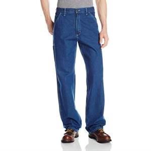 Carhartt 男士水洗牛仔原版工装裤 B13    286.53元