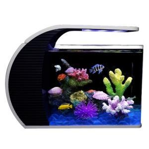热带金鱼缸水族箱小型珊瑚套餐鱼缸玻璃造景静音生态小鱼缸海水    278元