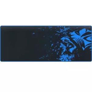 灵蛇游戏鼠标垫超大号加厚电脑桌垫精密包边底部防滑办公游戏皆宜P05黑蓝色12.72元