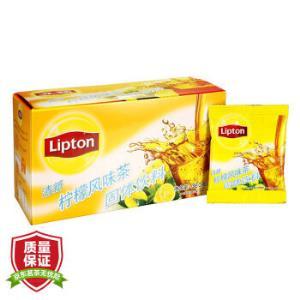 Lipton立顿清新柠檬风味茶20包*11件    120.1元(需用券,合10.92元/件)