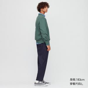 UNIQLO优衣库423553男装棉质松紧九分裤 129元