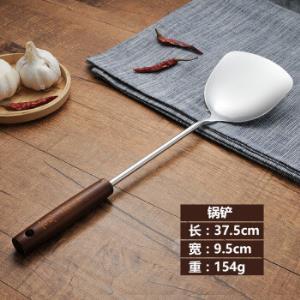 家用木柄不锈钢锅铲炒菜铲 16.9元