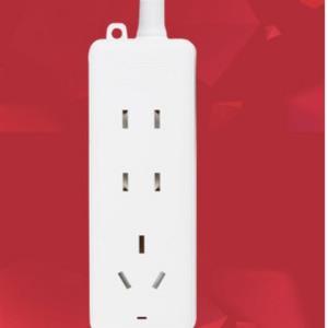 欧普照明插线板三位一米基础款 8.9元