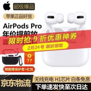 AirPodsPro6期免息有电子发票 1756元(需用券)
