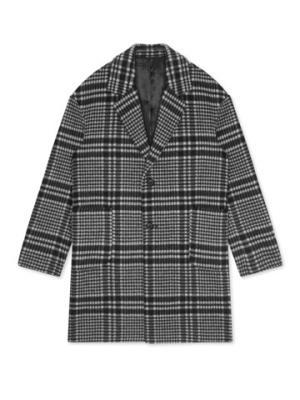 GXGGY126181G男装含羊毛时髦保暖彩格中长款毛呢大衣*3件    2727.9元(合909.3元/件)