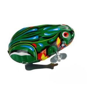 铁皮青蛙跳跳蛙发条儿童宝宝玩具经典80后怀旧六一儿童节礼物1只装 6.9元