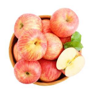 凑单品:宏辉果蔬烟台红富士苹果4个一级铂金果单果160-190g简装自营水果*14件 108.6元(合7.76元/件)