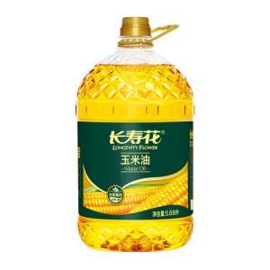 长寿花 玉米油 5.68L 79.9元(下单立减)
