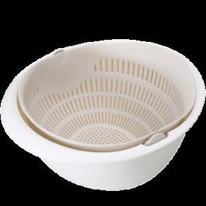 BELO百露双层洗菜篮*7件 68.5元(合9.79元/件)