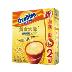 阿华田(Ovaltine)阳光早餐金色大麦牛奶麦芽麦乳精家庭分享随身包240g30g*(6+2)包*7件 77.3元(需用券,合11.04元/件)