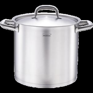 Momscook汤锅锅具电磁炉通用304不锈钢桶双耳锅带盖复底加厚汤锅263.2元