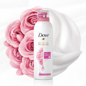 多芬(Dove)玫瑰甜悦沐浴慕斯200ml玫瑰甜悦限购5件14.9元