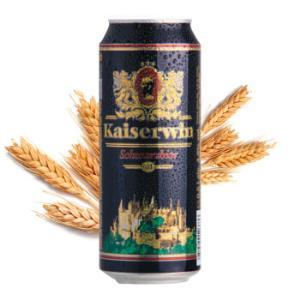 德国黑啤进口啤酒凯撒黑啤精酿麦芽整箱60元
