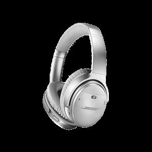 BoseQuietComfort35II蓝牙无线降噪耳机IIQC35升级版头戴式耳机银色