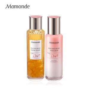 梦妆(Mamonde)蔷薇盈润澎弹水乳套装(精粹水150ml精粹乳125ml) 390元