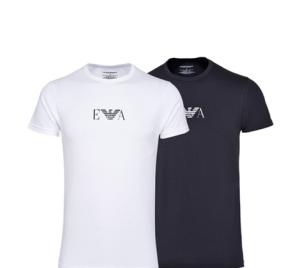 EMPORIOARMANI91935男士短袖T恤2件装299元